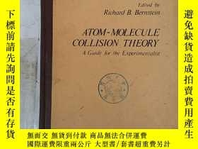 二手書博民逛書店atom-molecule罕見collision theory(