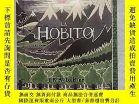 二手書博民逛書店預售稀有版世界語版霍比特人精裝the罕見hobbit hardbackY274822 tolkien ever