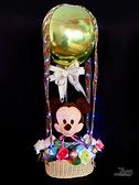 Mickey 米奇 幸福熱氣球,七夕/金莎花束/情人節禮物/婚禮佈置,節慶王【Y291779】