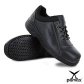PAMAX 帕瑪斯【超彈力氣墊高抓地力安全鞋】 ★皮革製安全鞋★寬楦鋼頭※ PA07101FEH--男女
