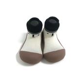 韓國 Attipas 快樂腳襪型學步鞋-北極熊棕底