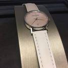 喬治傑生(GEORG JENSEN)-古柏粉母貝面-K32-ST02白錶帶/32mm