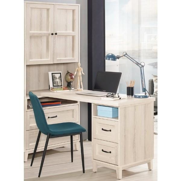 書桌 電腦桌 MK-880-1 雪莉5尺L型四抽書桌 (不含其它產品)【大眾家居舘】