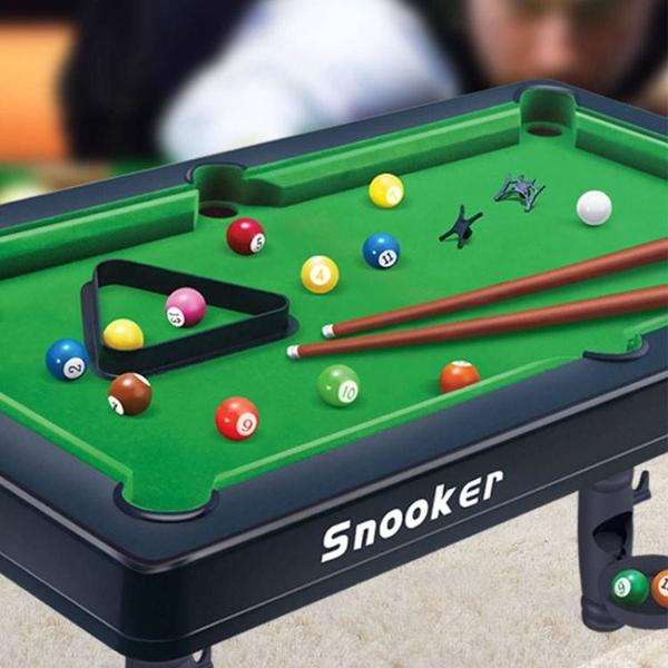 台球桌家用兒童大號桌球迷你小台球男孩家庭小孩桌面小型玩具室內 「免運」