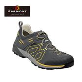GARMONT 男款 GoreTex低筒郊山健走鞋Santiago Low GTX 481241/212 深灰黃 / 登山鞋、防水、黃金大底