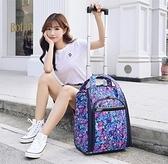 旅行迷你小行李袋大容量手提箱拉桿包男女可登機出差短途輕便商務 韓美e站