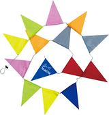 PolarStar 三角旗掛飾 長3.5M P15723 / 戶外 露營 帳篷 裝飾