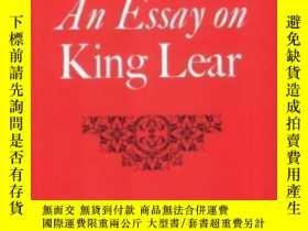 二手書博民逛書店An罕見Essay On King LearY255562 S. L. Goldberg Cambridge