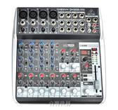 音響世界。德國BEHRINGER QX1202 USB 帶百種數位效果12軌USB混音器。一年保固
