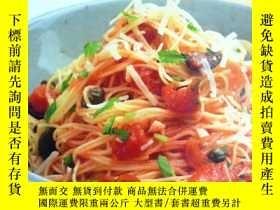 二手書博民逛書店英文原版罕見Perfect Pasta: Easy dishes