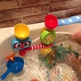 聖誕元旦鉅惠 寶寶洗澡玩具轉轉樂嬰兒童玩水水龍頭噴水花灑男孩女孩浴室戲水
