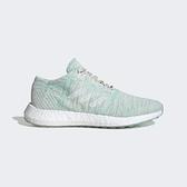 ADIDAS PUREBOOST GO W [B75827] 女鞋 運動 休閒 慢跑 輕量 針織 避震 愛迪達 湖水綠