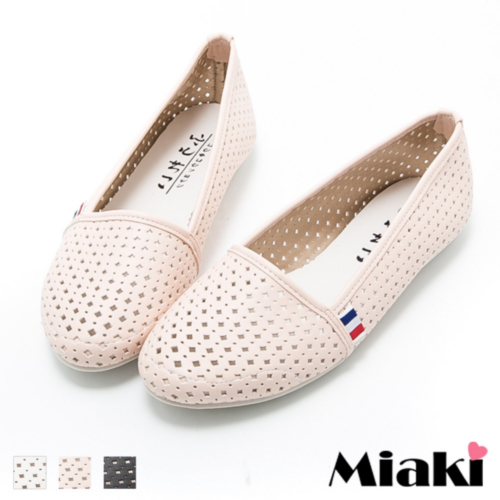休閒鞋韓風透氣平底包鞋娃娃鞋 (MIT)