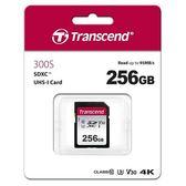 Transcend 創見 SDXC 300S / 256G 記憶卡 ( U3 / V30 )
