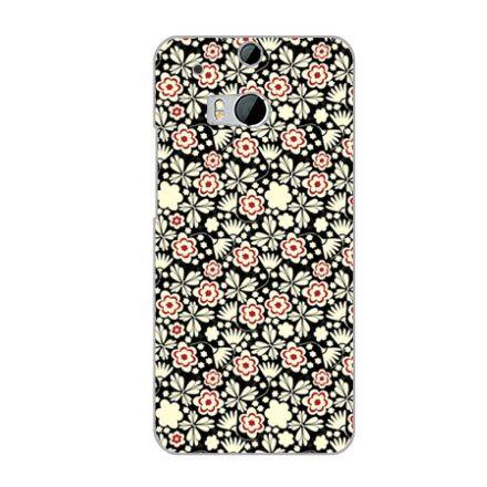 ♥ 俏魔女美人館 ♥ HTC One 2 / M8 { 花兒*水晶硬殼 } 手機殼 手機套 保護殼 保護套