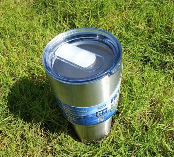 【愛愛雲端】霸冰杯+推片蓋 304不鏽鋼 車載 大容量 900ML 運動水杯 保溫杯 酷冰杯 冰霸杯