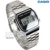 CASIO卡西歐 A168WEM-7 經典時尚復古造型設計數位錶 中性錶 男錶 女錶 銀x銀面 A168WEM-7DF