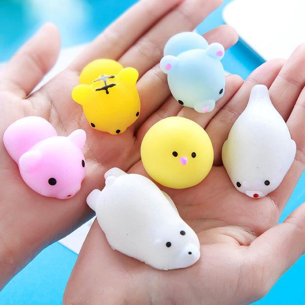 療癒小物 發洩玩具矽膠捏捏樂動物團-艾發現