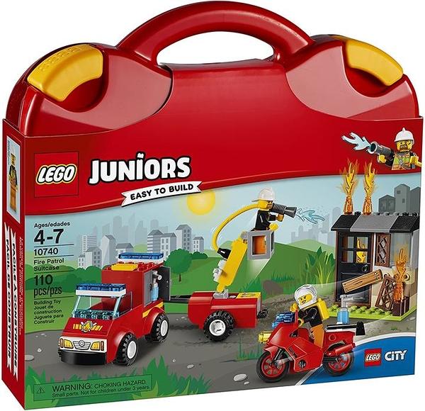LEGO Juniors 消防巡邏手提箱 10740 拼搭套件