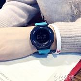 防水電子錶 簡約潮流手錶男士防水夜光男孩女中學生多功能運動個性情侶電子錶 3C公社