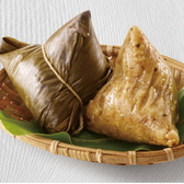 品香肉粽 - 蓮子山藥肉粽10入+月桃葉花生粽10入+薏仁肉粽6入