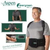 零碼促銷商品【又強】美國ASPEN EVERGREEN 456 TLSO背架護腰-黑(耶思本脊椎裝具(未滅菌))
