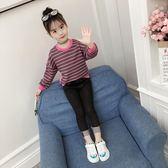 女童套裝秋裝2018新款韓版秋季童裝洋氣兒童時髦小腳牛仔褲兩件套