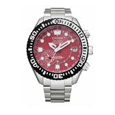 CITIZEN 星辰 東京˙紅限量版腕錶 PROMASTER GPS衛星對時鈦金屬專業潛水錶CC5005-68Z 紅