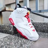 【現貨折後$5099】NIKE Air Jordan 6 Retro Hare 兔寶寶 喬丹 6代 女鞋 撞色 籃球鞋 運動 384665-062
