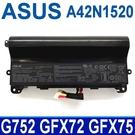 ASUS A42N1520 8芯 原廠電池 ROG GFX72VY GFX75 GFX75V GFX75VY