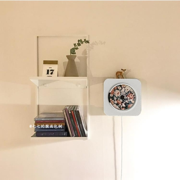 CD機 CD機正韓壁掛式CD播放唱片機文藝懷舊CD播放器胎教機禮物