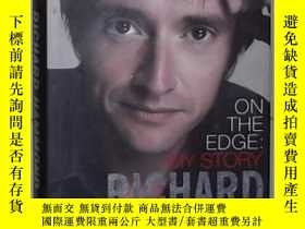 二手書博民逛書店英文原版罕見On the Edge by Richard Ham