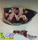 [COSCO代購] 台北花苑粉色甜蜜玫瑰花束 _W114871