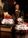 圣誕八音盒生日禮物女生可愛卡通兒童房小擺件旋轉音樂 『洛小仙女鞋』