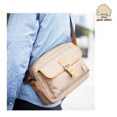 【Sylvain Lefebvre希梵】祕境探險系列『橫木』經典男包-側背包(中)-享受自由自在悠閒時尚