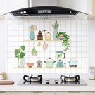 彩色防油貼紙 (60cm x 90cm) 防油煙貼紙 廚房壁貼 灶台貼紙 瓷磚貼 貼膜 防油煙 耐高溫