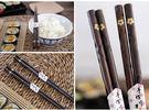 日式和風木竹筷5入組螺旋櫻花040568通販屋