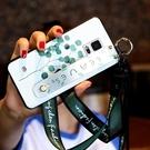 三星Note4手機殼A6s女文藝A9s小清新腕帶支A8S架全包保護『新佰數位屋』