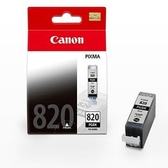CANON㊣原廠墨水匣 PGI-820BK 黑色 適用 CANON iP3680 / iP4680 / MP638 / MX868 印表機