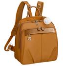 Kanana卡娜娜 多功能尼龍大型手提後背兩用包(橙色)241009-15