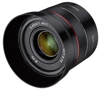 【聖影數位】SAMYANG AF 45mm F1.8 FE 大光圈 自動對焦 For Sony FE E-Mount 正成公司貨 SYPCAF45-SFE
