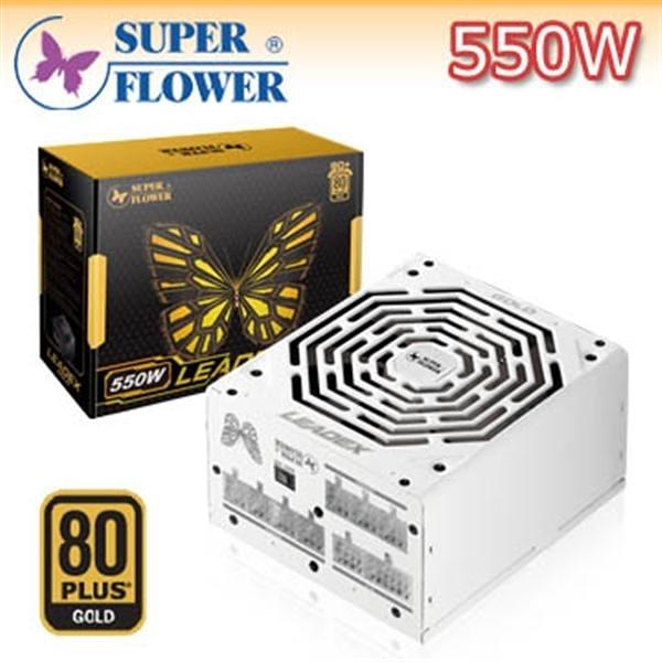 【綠蔭-免運】振華 Leadex 550W POWER-80PLUS 金牌 全模組化