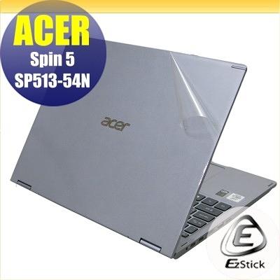 【Ezstick】ACER Spin 5 SP513-54N 二代透氣機身保護貼 DIY 包膜