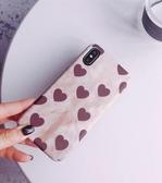 Xiaomi手機殼 復古愛心網紅同款小米8SE手機殼保護套 莎拉嘿幼
