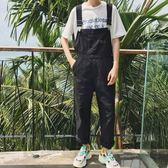 背帶褲 休閒工裝男褲韓版學生個性吊帶褲