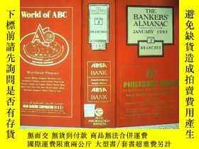 二手書博民逛書店THE罕見BANKERS ALMANAC JANUARY 199