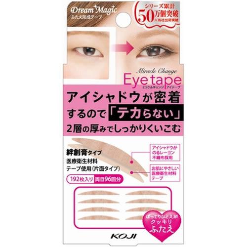 KOJI 魔術變身雙層式雙眼皮貼/自然(96回)◆四季百貨◆