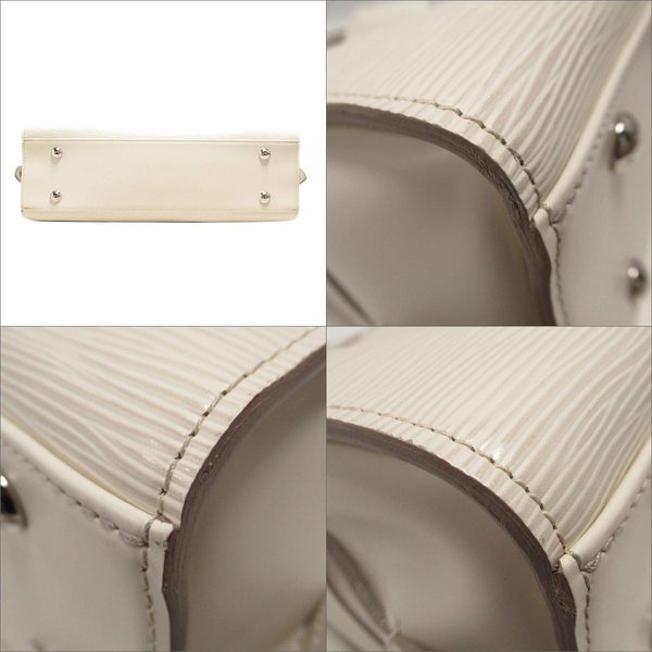 LOUIS VUITTON LV 路易威登 白色EPI水波紋手提包 Pont Neuf GM M5904J 【BRAND OFF】