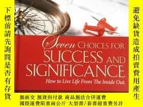 二手書博民逛書店Seven罕見Choices for Success and S