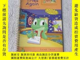 二手書博民逛書店Leap罕見tries again: (if at first